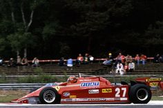 The 1981 season was a mixed one for Gilles and the 126CK. Two wins nevertheless helped him to seventh in the drivers' standings, 16 points ahead of team-mate Didier Pironi.