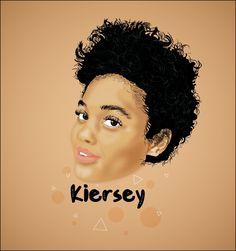 🖌🖌🖌 @kiersey  •••••••••••••••••••••••••••••••• #graphicdesign #illustrator #illustration #dope #dopemovie #kierseyclemons #kiersey #digitalpainting #digitalillustration #digitalart #vector #adobeillustrator #adobe #actress #easy #netflix #art