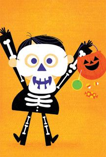 Boy Skeleton - by mrmack, via Flickr