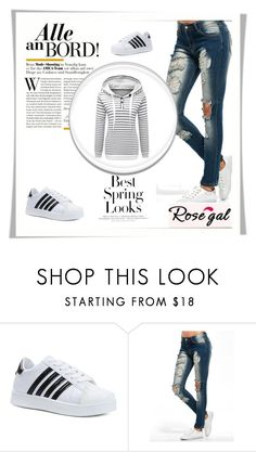 """""""Rosegal #43"""" by velidafashion ❤ liked on Polyvore featuring H&M"""