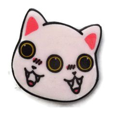 Two Faced Meow Brooch ($8) ❤ liked on Polyvore featuring jewelry, brooches, pin, fillers, brooch, cats, pin brooch, pin jewelry, cat jewelry and cat brooch