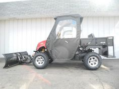 Tis the season for snow and cold! But we can equip your side-by-side UTV with snow plows and enclosures to make winter chores safer and easier! See more at: http://www.powerequipmentsolutions.com/news-a-announcements/223-get-ready-for-winter-with-a-snow-plow-and-enclosure-for-your-side-by-side-utv.html  #sidebyside #UTV #AmericanSportWorks #Landmaster #snowplow #enclosure #PES #Vandalia