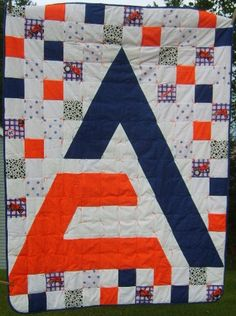 Allis Chalmers Quilt by koniskakouture on Etsy, $50.00