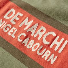 Inspired by the tradition of De Marchi and the eye of cult British designer Nigel Cabourn, this season the special collection turns to the oldest cycling clothing brand on the market. With over 70 years' experience in producing jerseys worn on the backs of Worlds Champion, Nigel's expertise in military heritage sees the duo recreate a jersey worn in the early days of the modern cyclin era; recreated for today's man. 100% Cotton Chest Button Pockets Zip Placket Striped Body Designed in…