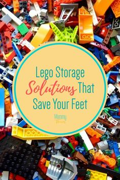 Lego Storage Solutions That Save Your Feet - Mommy Thrives - - As a parent I've stepped on Legos more than I care to count. That's why I started looking up different storage system ideas to get Legos off the floor. Building Toys For Kids, Lego For Kids, Lego Building, Best Toddler Toys, Best Kids Toys, Toy Storage Bags, Kids Storage, Legos, Lego Lego