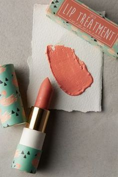 Tinted Lip Treatment. This line from anthropologie reminds me of paul and joe.
