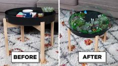 Home Decoration Application Coffee Table Terrarium, Garden Coffee Table, Terrarium Diy, Diy Coffee Table, Modern Coffee Tables, Diy Table, Nifty Diy, Easy Diy, Plant Table