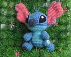 STITCH and the GANG PDF amigurumi crochet pattern by Chonticha