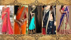 5 Gorgeous Ways to Wear Designer #Saree with Thin Perfect Pleats for Party like a Bollywood Celebrity