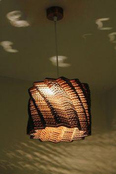 Unique Hanging Lamps hanging lamp | pendant light |handmade| eco-friendly | unique