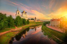 ***Июньский рассвет (Псков) // June dawn (Pskov, Russia) by Ed Gordeev on 500px