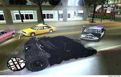 The Dark Knight Carjacks In 'Grand Theft Auto: San Andreas' Mod All Mobile Phones, The Dark Knight Rises, San Andreas, Windows 8, Grand Theft Auto, Bts, Gotham City, The Darkest, Nostalgia