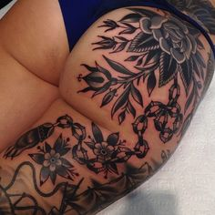 illustratedgentleman:  Continuing on from Erin's cover up. Some...
