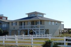 Holden Beach, NC - Go Fish 487 a 4 Bedroom Oceanfront Rental House in Holden Beach, part of the Brunswick Beaches of North Carolina. Includes Hi-Speed Internet