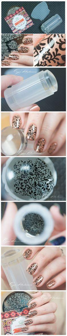 $2.99 2pcs/set Clear Jelly Nail Art Stamper Crystal Clear Silicone Nail Art Stamper & Scraper - BornPrettyStore.com