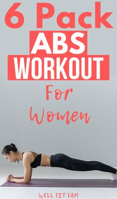Oh my word! This ab routine is epic! I wanted an easy and quick ab exercise workout to do at home and this one totally blew me away! So simple but so effective and perfect for busy Moms on the go like me! 5 Minute Abs Workout, Total Ab Workout, Quick Ab Workout, 6 Pack Abs Workout, Ab Core Workout, Easy Workouts, Core Workouts, Ab Exercises, Workout Ideas