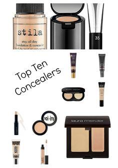 Top Ten Concealers via @BeautyAndFashionTech #BeautyAndFashionTech