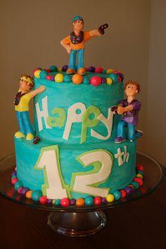 Cheat Day: Laser Tag Birthday Cake