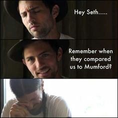 How dare ANYONE compare The Avett Brothers to Mumford!!  Thanks Eric King for this fantastic meme!!! ♥♥