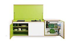 As cozinhas compactas não são muito difundidas, principalmente no nosso pais, onde ter uma cozinha grande com tudo dentro é o desejo de quase todo mundo. C