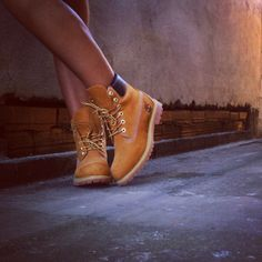 "Timberland: the ""Original Yellow Boot"" has long been a popular American icon, the classic look has been copied by many, but never really duplicated. Girl Timberlands, Timberland Waterproof Boots, Timberland Boots Outfit, Yellow Boots, Shoe Company, Winter Shoes, Boat Shoes, Shoes Heels, Leather Boots"