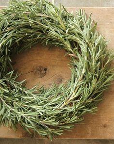 Fresh Farmhouse   Rosemary Wreath