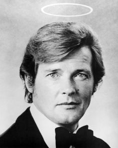 """Roger Moore - The Saint: My first """"love interest"""""""