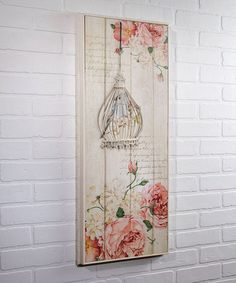 Another great find on #zulily! Shabby Chic 3-D Wall Art by Ohio Wholesale, Inc. #zulilyfinds