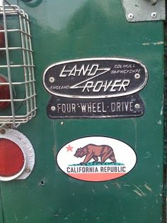land rover....hehe....my son, Alan, had one of these.  He is so sorry he ever sold it!