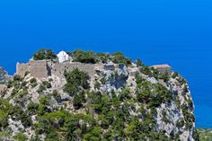 Monolithos is a Greek village on the island of Rhodes.