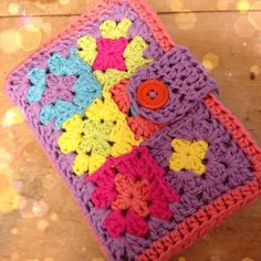 Finished this this afternoon. It's a one of a kind crochet bible cover, this is…