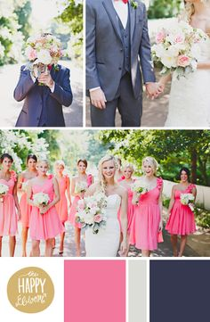 The Happy Bloom snaps photographs and accompanies them with color themes from Savannah, Georgia. Wedding Ideas Board, Plan My Wedding, Dream Wedding, Wedding Inspiration, Wedding Weekend, Seattle Wedding, Wedding Day, Wedding Color Schemes, Wedding Colors