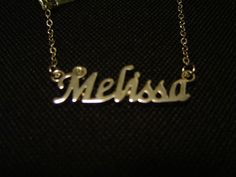 Melissa: Silver Tone (Necklace) - LAST ONE