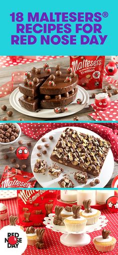 Our friends at Maltesers have come up with 18 delicious recipes for you to make for your bake sale.