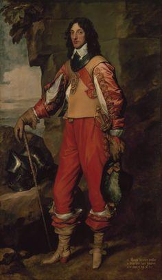 Van Dyck - Portrait of Sir Thomas Wharton (1639) Hermitage Museum, St. Petersburg