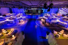 Wenn Stern auf Stern trifft: Konferenz-Setting für Daimler Trucks