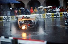 Master in the wet. Ayrton's first season with Toleman.
