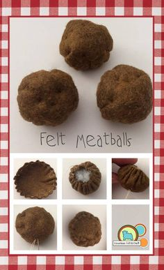 My first rule in designing felt food is to try to make it as interactive as possible. After all every little chef wants to do some serious cooking. This DIY felt food meal will allow them to use ev…