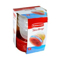 #Amazon: $2.26 or 36% Off: Rubbermaid TakeAlongs Twist and Seal Food Storage Containers 2-Cup Set of 3 $2.26 p... #LavaHot http://www.lavahotdeals.com/us/cheap/rubbermaid-takealongs-twist-seal-food-storage-containers-2/80280