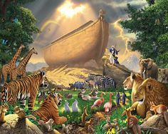 """NOAH'S ARK ~ HAPPY BIRTHDAY TO MY DEAR FRIEND VICTORIA. . ."""