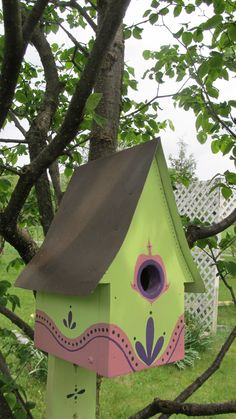 Just one of the pretty bird houses Wintergreen Gardens will have for sale at the pop-up farmers' market.
