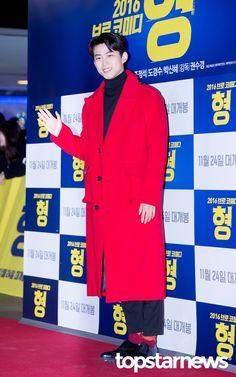 [HD포토] 투피엠(2PM) 택연 열정적인 붉은 코드 #topstarnews
