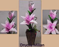Arteirices da Dru: Arranjo de Flores em EVA