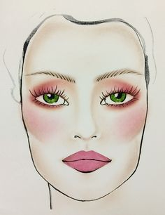 Use eye makeup with rich red tones to make green eyes stand out