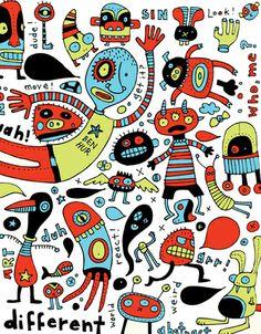 elisegravel.com | Elise Gravel | Books, cartoons, design, illustration
