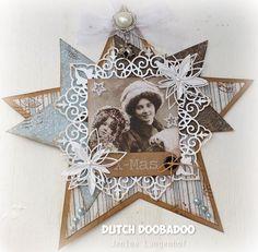 Dutch Doobadoo Shape Art Ster door Jenine Langenhof