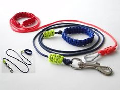 How to Make the Simplest Paracord Dog Leash-Adjustable Handle/Bracelet-S...