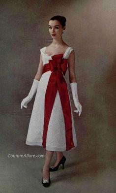 Couture Allure Vintage Fashion - Lanvin-Castillo   1956