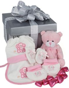 #flowers #australia #gifts #hamper -   As the rhyme goes, girls are made of sugar and spice and all things nice. Spoil the new baby girl with this gift pack especially for her. Pink and White Embroidered bib Pink and White Embroidered hat Pink and Wh