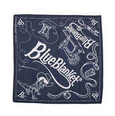 Blue Blanket Jeans Bandana